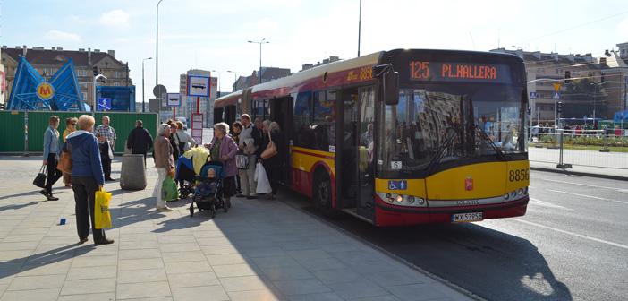 Nowy przystanek przy placu Hallera