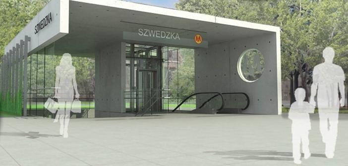 Stacja metra Szwedzka otwarta dla zwiedzających