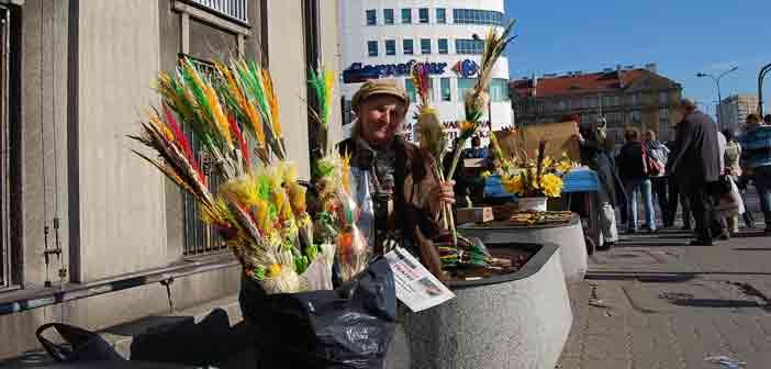 Niedziela palmowa na Pradze