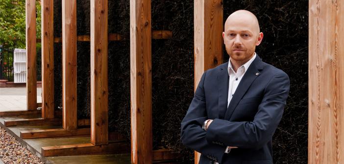 Pomysłodawcą budowy tężni jest Kamil Ciepieńko, północno-praski radny