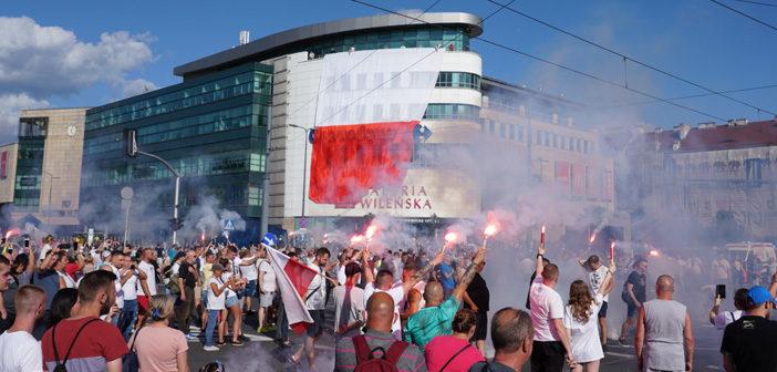 Mieszkańcy Pragi godnie oddali hołd pamięci bohaterom Powstania Warszawskiego