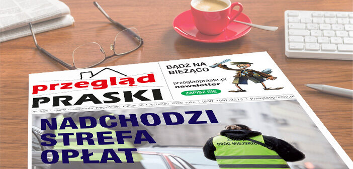 Nowy numer gazety Przegląd Praski