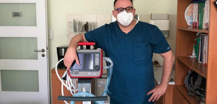 Nowy respirator w Szpitalu Praskim. Jest już zajęty