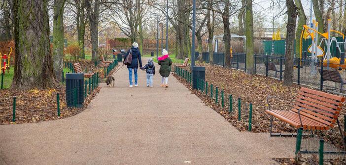 Park jak nowy na Michałowie